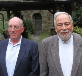 Ralph Wood, left, and Steve Oresman. Photos Copyright Connecticut Audubon Society.
