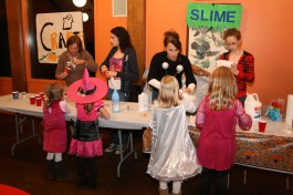 Have fun making Halloween crafts and more at the Enchanted Forest on Friday, October 19.
