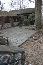 Newly cleared Teaching Terrace at Birdcraft