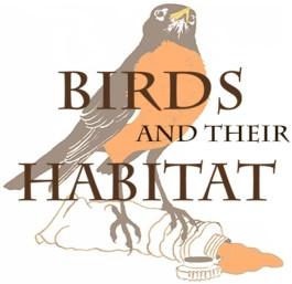 birds and their habitat logo