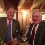 The Connecticut Audubon Society President Alexander Brash with incoming Chairman Peter Kunkel