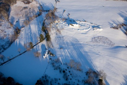 January 13, 2011_Aerial After the Blizzard - photo credit: GLsweetnam