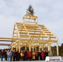 November 2011: Topping Out Ceremony