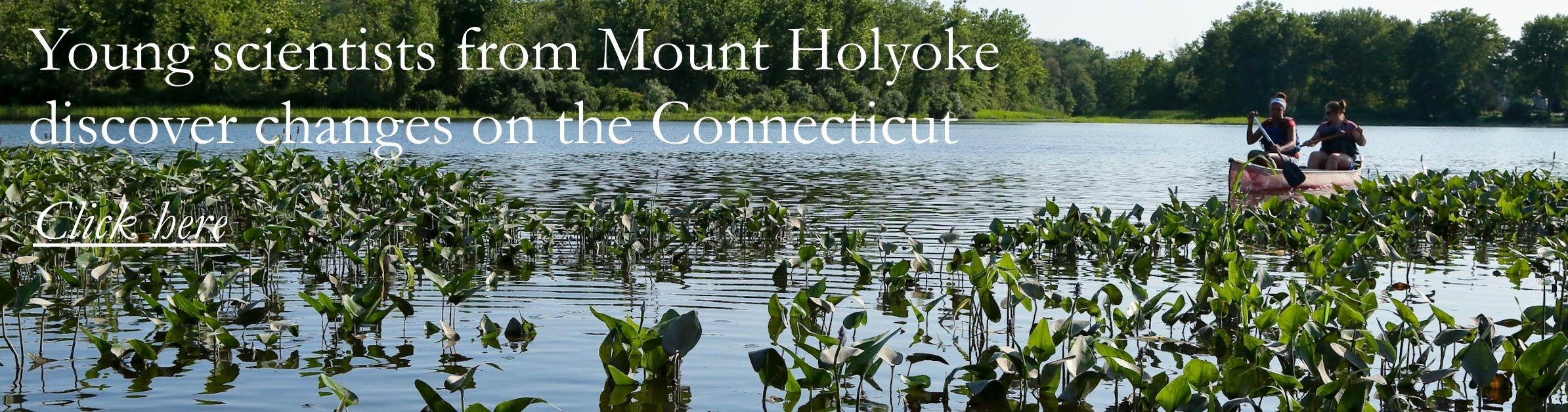 mount holyoke canoe landscape