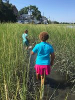CC Campers in salt marsh