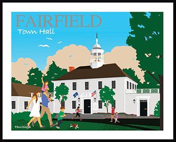 Fairfield Town Hall poster_Paul Siegel-web