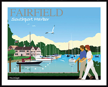 Southport Harbor poster_Paul Siegel-web